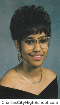 Jacqueline Allen yearbook picture