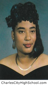 Gina Bradby yearbook picture
