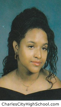Ebony Brown yearbook picture
