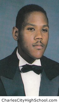 Sidney Burton yearbook picture
