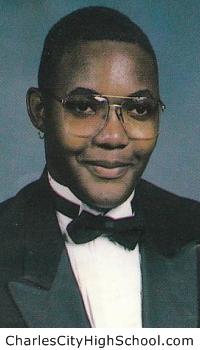 Dennis Crump yearbook picture