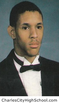 Stephon Davis yearbook picture