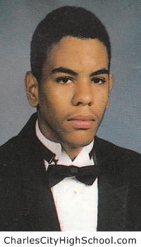 Antoine Greene yearbook picture