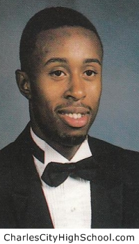 Cleon Greene yearbook picture