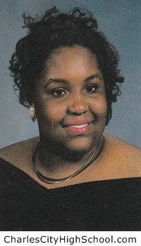Tangela Jackson yearbook picture