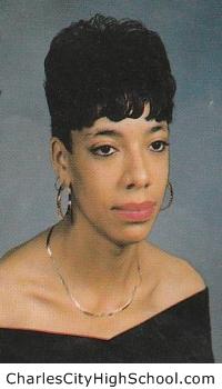Tysia Johnson yearbook picture