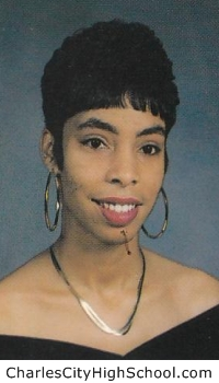 Monica Jones yearbook picture