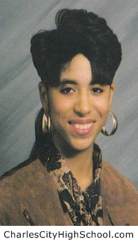 Angel Long yearbook picture