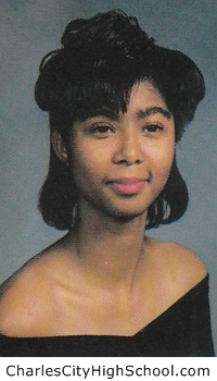 Latoya Quivers yearbook picture