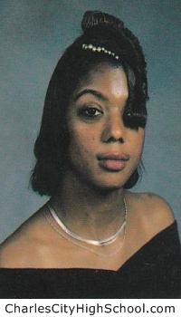 Christie Tabb yearbook picture