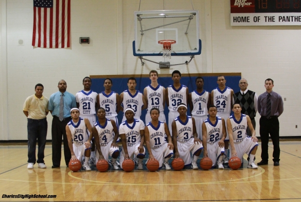 Charles City 2012 Varsity Basketball Team