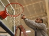 Coach Sharone Bailey Cuts Net