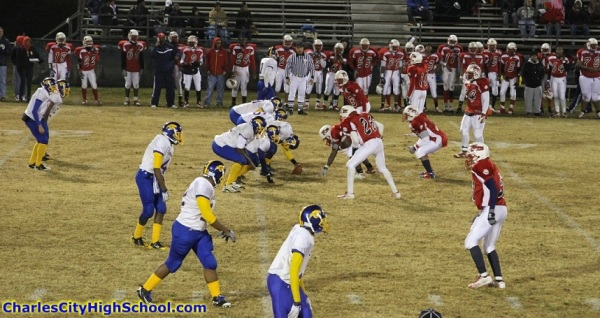 Charles City vs. Sussex Central High in Playoff Game