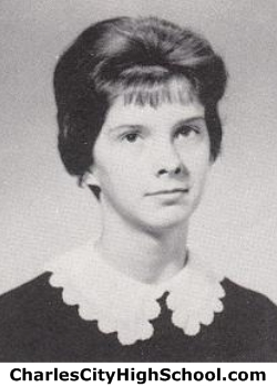 Ann Banks yearbook photo