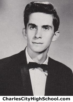 Thomas Eugene Banks yearbook picture