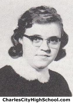 Virginia Marable yearbook photo