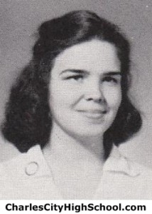 Mary Ellen Means Yearbook Photo