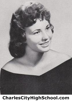Betty Waitman Moore yearbook photo