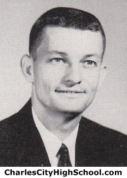 John F. Parker yearbook photo