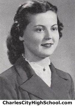 Irene Price yearbook photo