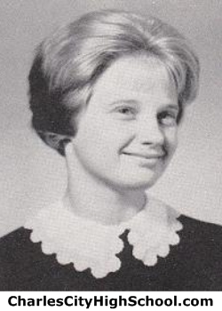 Claire Rayner yearbook photo
