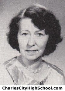Louise Sampson Yearbook Photo
