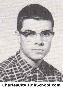 Charles Yates yearbook picture
