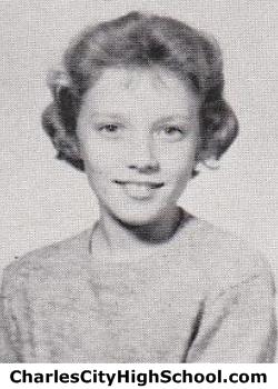 Dora Yates 8th grade yearbook photo