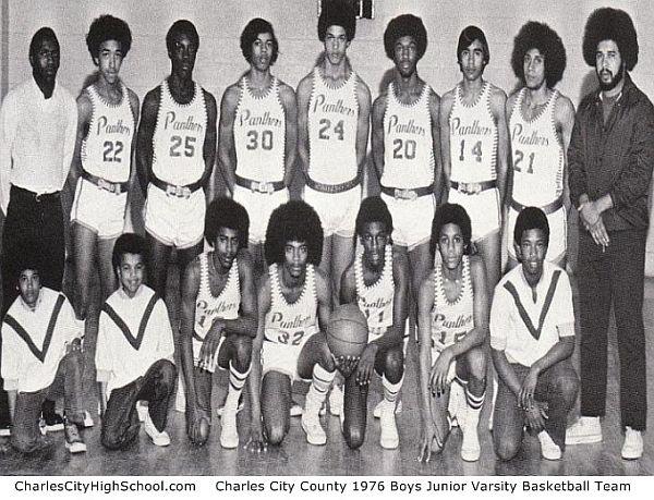 1976 Charles City Boys Basketball JV Team