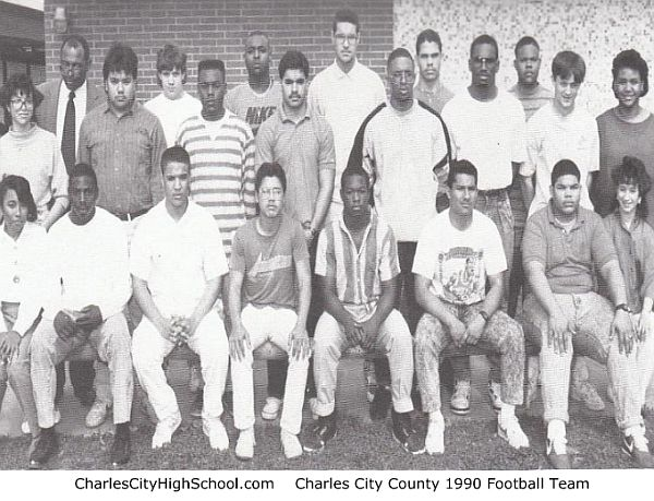 Charles City High School Varsity Football Team Photo