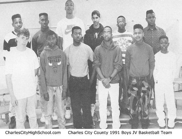 1991 CCHS Boys JV Basketball Team Picture