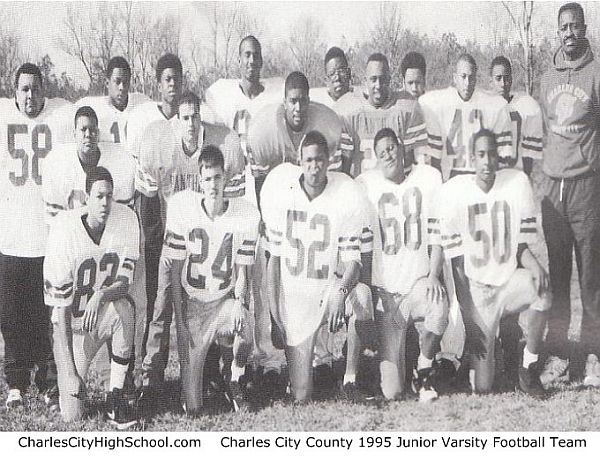 1995 Charles City JV Football Team Picture