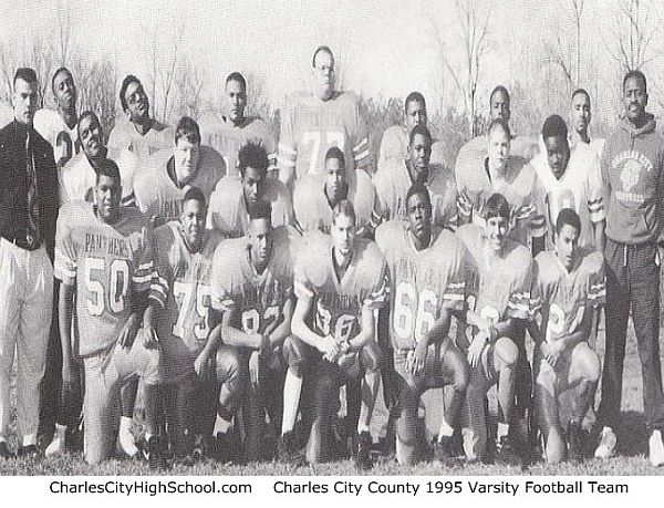 1995 Charles City Panther varsity football team