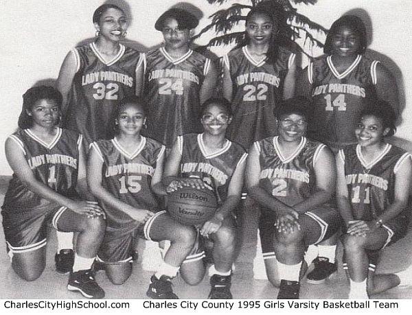 1995 Charles City Girls Basketball Team Picture