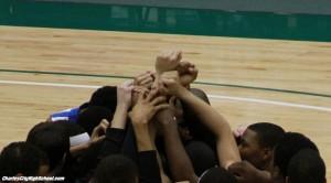 Charles City Basketball Team beat Luray Bulldgos at Kaplan Arena on March 3, 2012