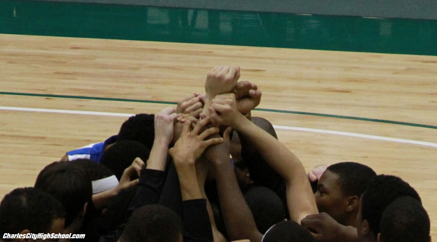 Charles City Basketball Team beat Luray Bulldgos at Kaplan Arena on March 3, 2012