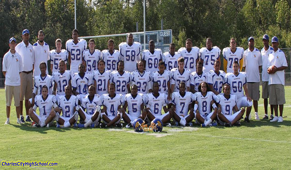 2012 Charles City County Football Team Picture